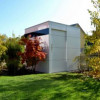 Gartenhäuser modern und mit Flachdach