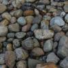 Gabionenzaun als Steinmauer